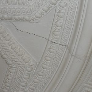 Plaster Ceiling Crack