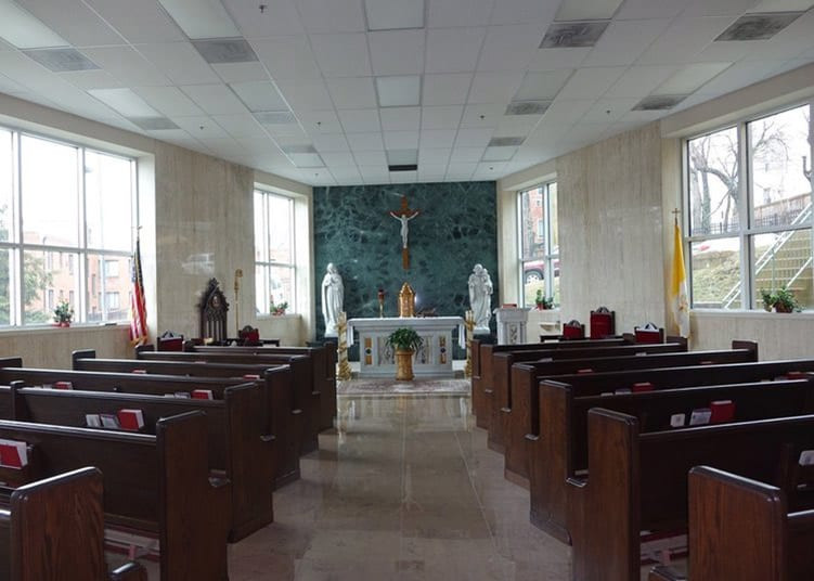 Archdiocese of Military Chapel Before