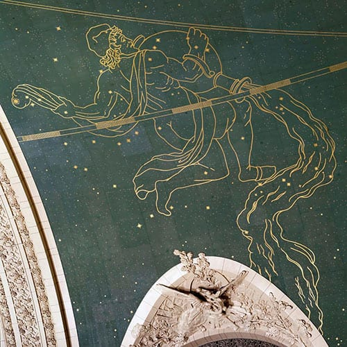 Grand Central Station, Sky Mural, Preservation Project