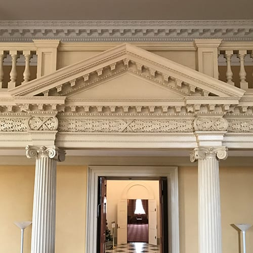 The Maryland State House, Old Senate Chamber, Preservation Project