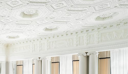 Ornamental Plaster at Yale Club of New York City