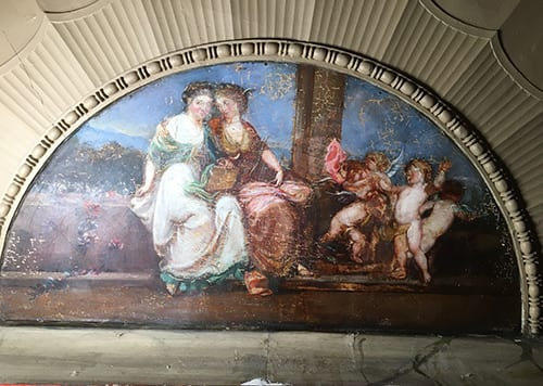 Rotunda Scene After Varnish Removal