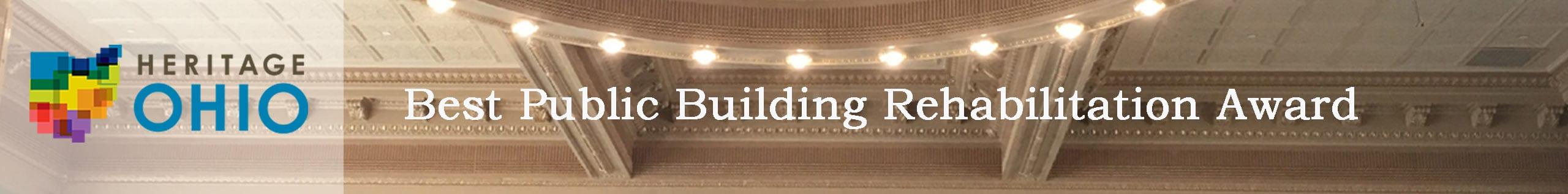Fulton County Courthouse recognized with the 2020 Heritage Ohio Best Public Building Rehabilitation Award