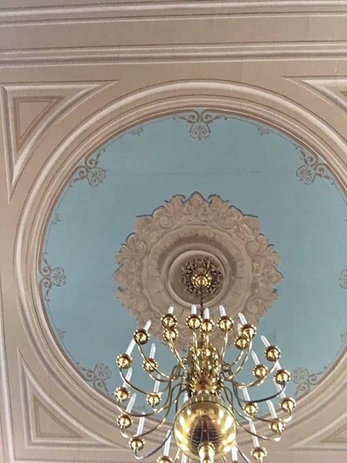 Church Hall Ceiling- Cracks