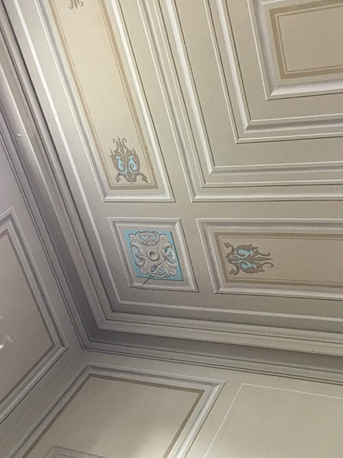 Church Hall Ceiling -cracks