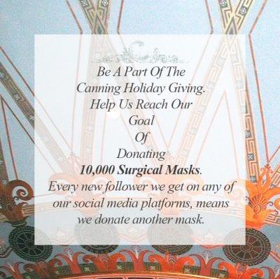 Holiday Mask Donation