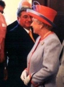 John Meets the Queen