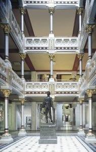 CT Capitol atriums
