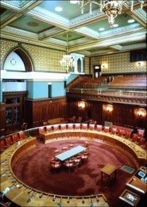 CT Capitol -sentate chamber