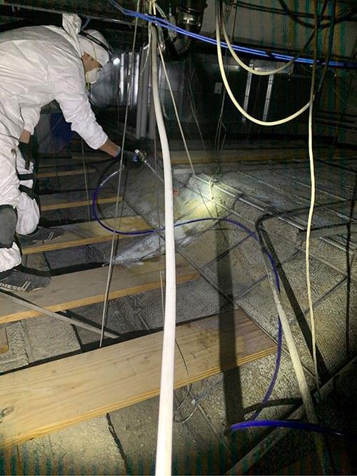 Plaster Consolidation