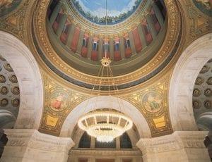 RI Capitol rotunda