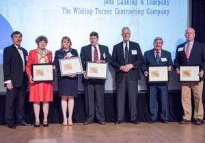 2017 District of Columbia Award for Excellence in Historic Preservation, DC Preservation League Cosmos Club, Warne Ballroom, Washington, DC