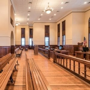 Karnes County Courtroom