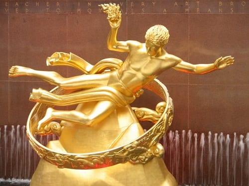 Promethius Statue