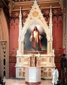 St. John the Evangelist - Tabernacle Altar