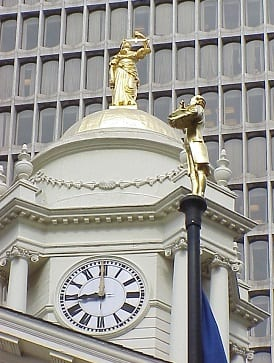 Old State House Statues & Dome Gilding