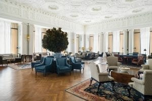 Main Lounge, The Yale Club of New York City