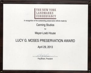 Lucy G. Moses Preservation Award