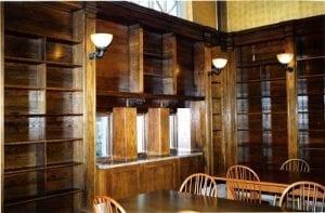 BPL Elliot Room - woodwork