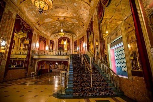 Warner Theater lobby