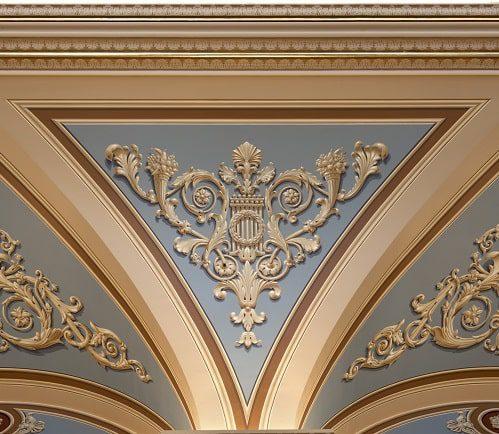 Philadelphia Academy of Music After Restoration of Original Design Scheme