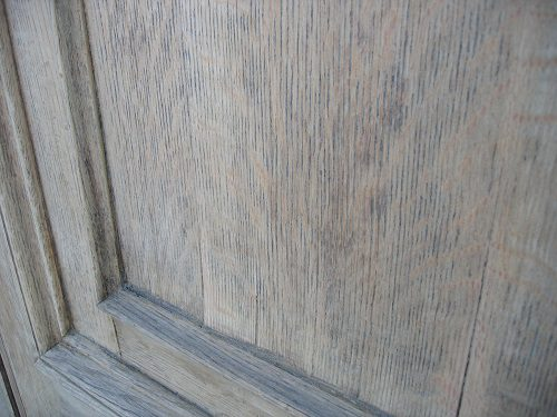 Detail of failing veneer