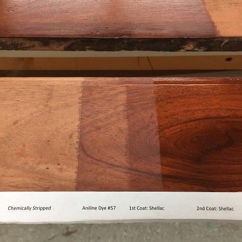 Mark Twain Woodwork Process Used