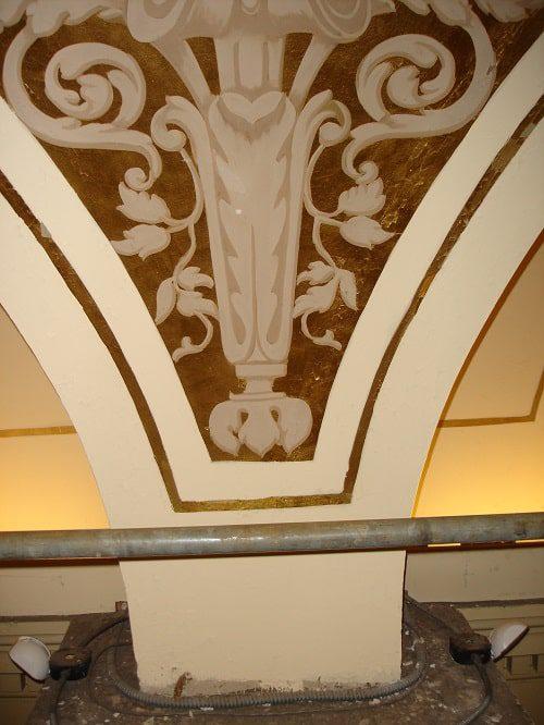 Philadelphia Academy of Music Before Restoration of Original Design Scheme