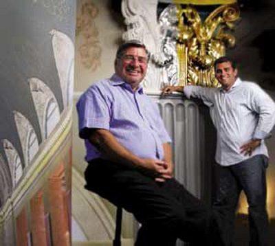 John & David Hanging Out